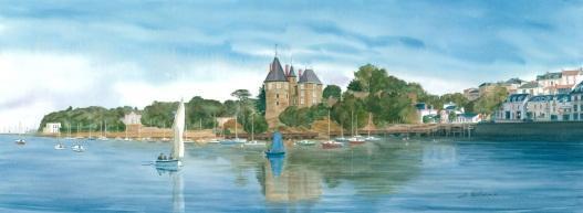 Panoramique Malouine/ Château/ Ville