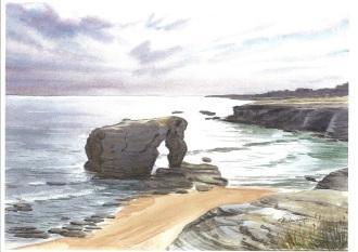La roche percée PREFAILLES