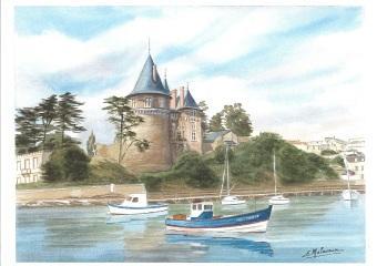 petit bateau de pêche rentrant au vieux port
