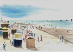 La BERNERIE autrefois la grande plage