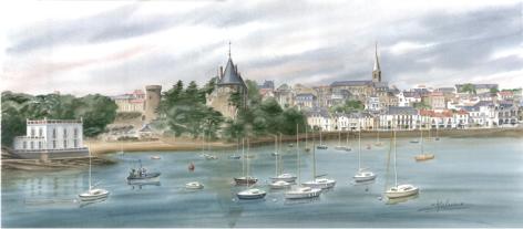 Panoramique MALOUINE château ville