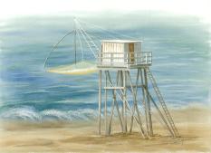 Pêcherie échelle Tharon
