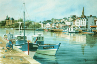 Il y a 30 ans les quais du vieux port